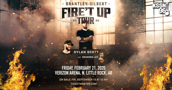 None - Win Brantley Gilbert Concert Tickets