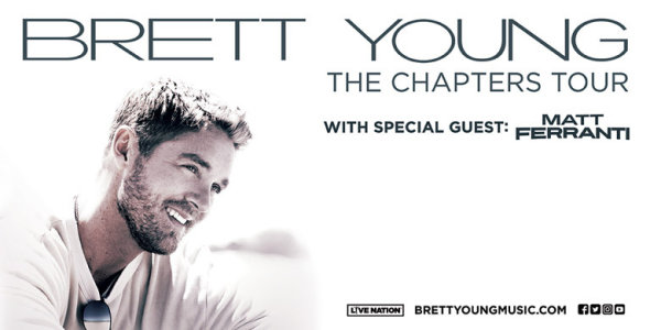 image for Win The Wolf Experience with Brett Young!