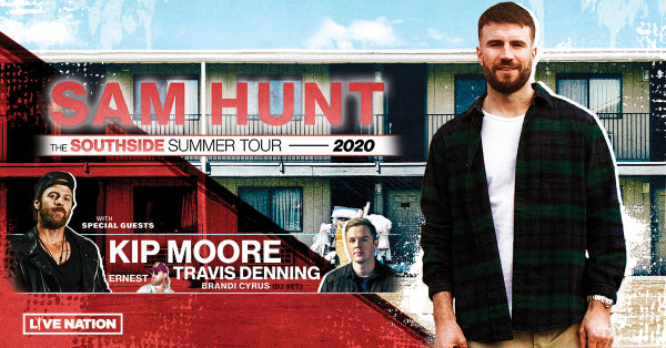 image for Win Tickets To See Sam Hunt At The BankPlus Amphitheater!