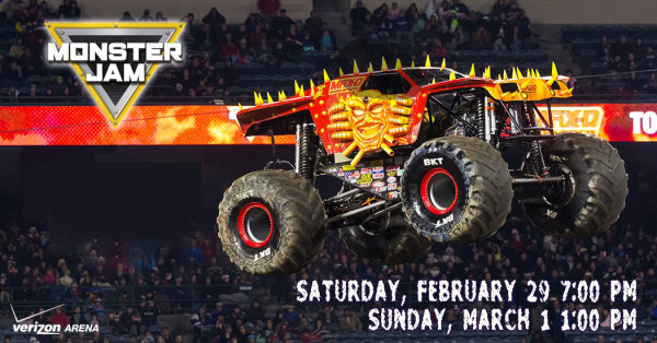 image for Win A Four Pack Of Monster Jam Tickets & Pit Passes with The Wolf!