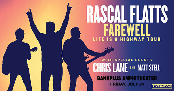image for Win Tickets To See Rascal Flatts at BankPlus Amphitheater!