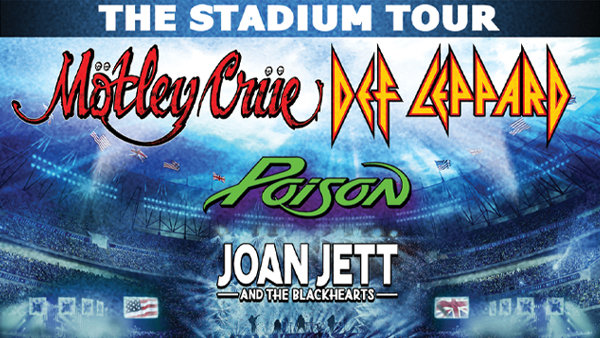 None - Win Tickets to The Stadium Tour with Motley Crue!