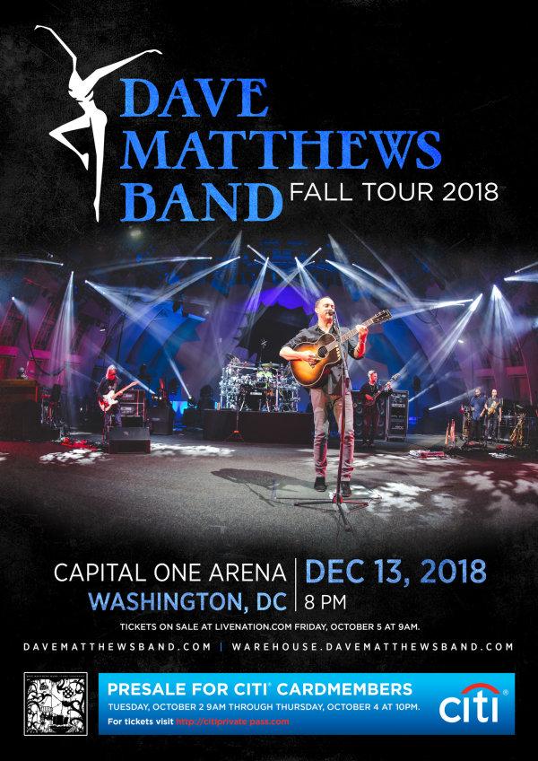 None - Win Dave Matthews Band Tickets!