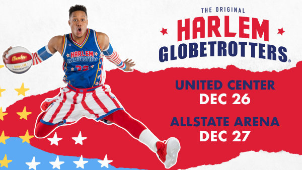 None - Win a VIP Prize pack from the Harlem Globetrotters!