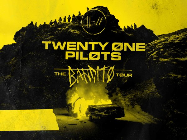 "None - TWENTY ØNE PILØTS  - ""BANDITO TOUR"""