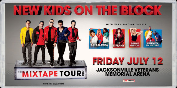 None - NEW KIDS ON THE BLOCK: THE MIXTAPE TOUR  WITH VERY SPECIAL GUESTS SALT-N-PEPA, TIFFANY, DEBBIE GIBSON  AND NAUGHTY BY NATURE