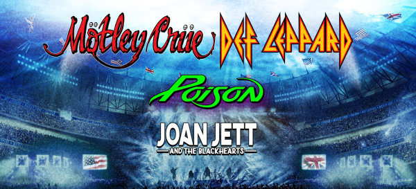 image for Mötley Crüe, Def Leppard, Poison and Joan Jett