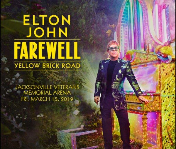 None - ELTON JOHN'S FAREWELL YELLOW BRICK ROAD
