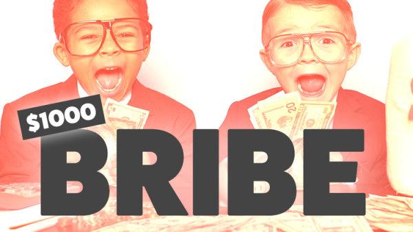 None -  $1000 Bribe On ALT 102.3