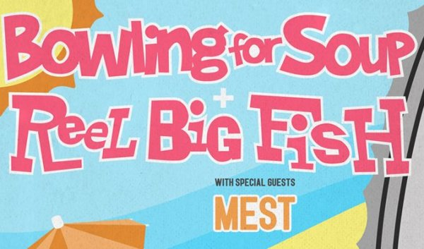 None - Reel Big Fish & Bowling For Soup - 7/22 @ Crystal Ballroom
