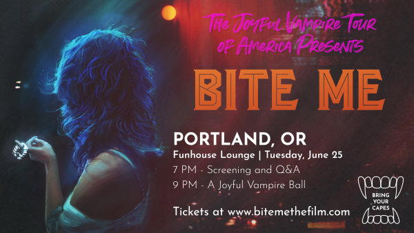 None - Bite Me Movie Screening + Q&A with Film Writer/Star
