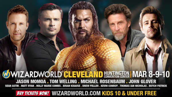 None - Win tickets to Wizard World Comic Con 2019!