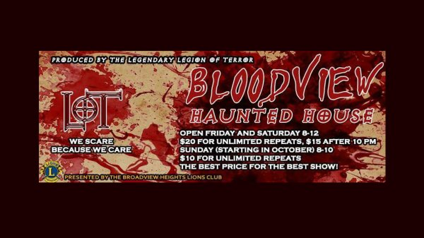 None - Win tickets to Bloodview Haunted House!