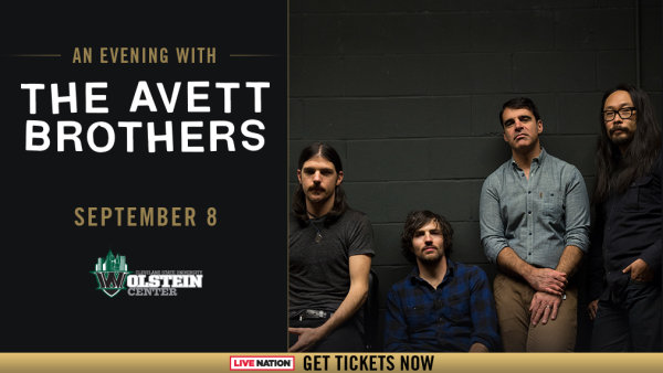 None - Win tickets to see the Avett Brothers at The Wolstein Center