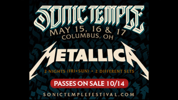 None - Win tickets to Sonic Temple 2020