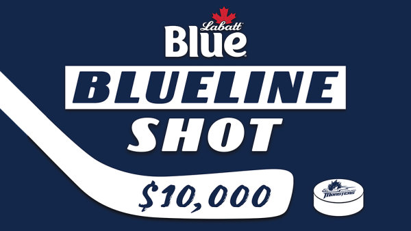 """None - Win a chance to take The Labatt Blue """"Blue Line Shot"""""""