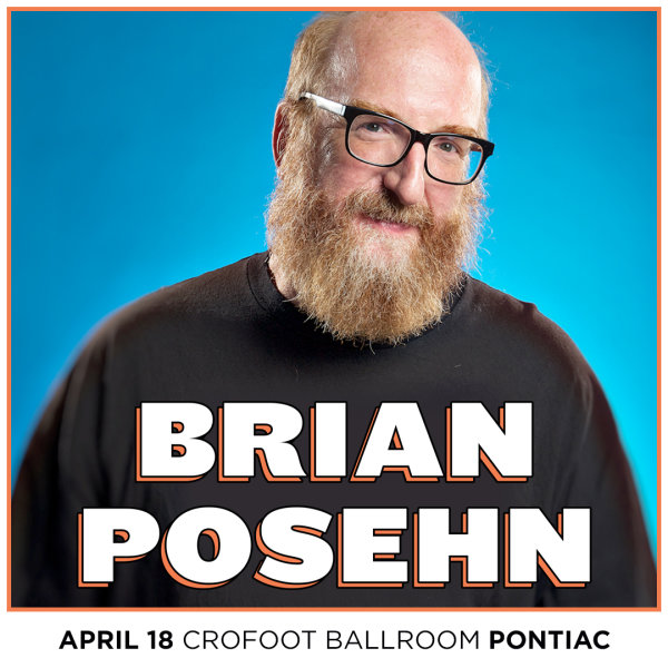 None - Win Tickets to see Comedian Brian Posehn