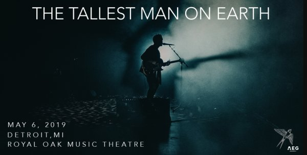 None - Win tickets to The Tallest Man On Earth