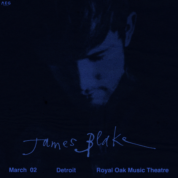 None -  Win Tickets to James Blake at the Royal Oak Music Theatre