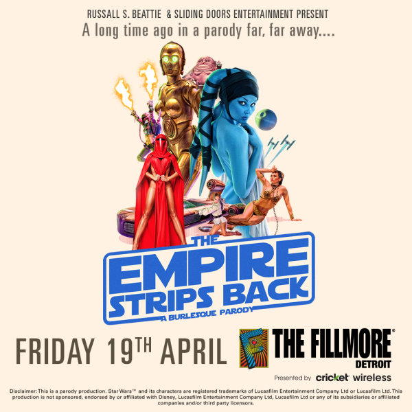 None -  Win Tickets to The Empire Strips Back