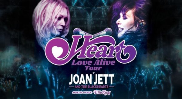 None - Win tickets to see Heart and Joan Jett