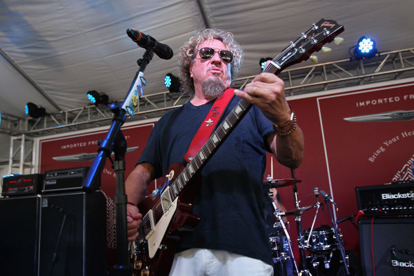None - Win tickets to see Sammy Hagar & The Circle