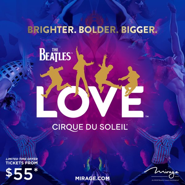 None - Win a The Beatles LOVE Prize Pack