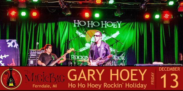 None - Enter to win a pair of tickets to see Gary Hoey at The Magic Bag