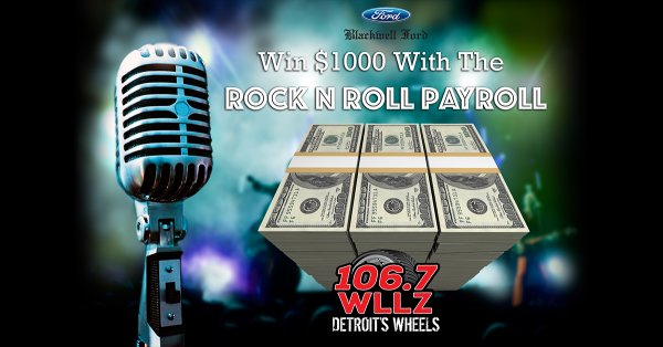 None - Win $1000 With The Rock N Roll Payroll