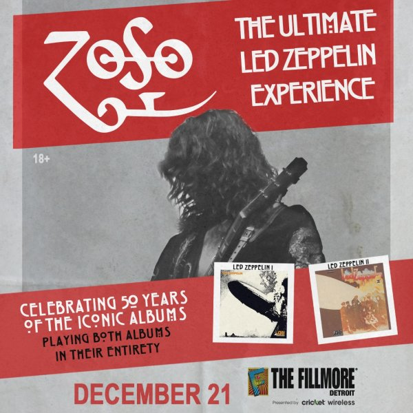 None - Win tickets to Zoso: The Ultimate Led Zeppelin Experience
