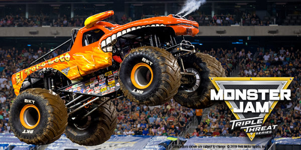 None - Win a 4-pack of tickets to Monster Jam