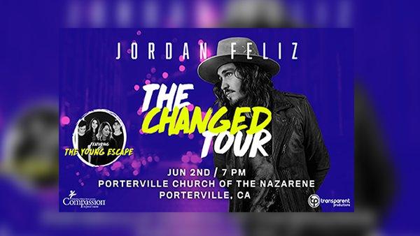 None - Jordan Feliz - The Changed Tour