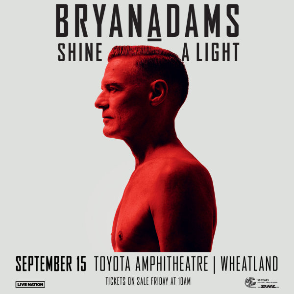 None - Win Bryan Adams Tickets!