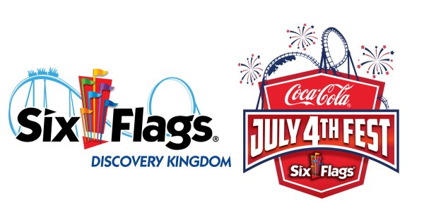 None - Win a family 4-pack to experience Coca-Cola July 4th Fest at Six Flags Discovery Kingdom!