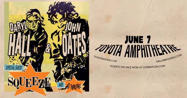image for Win a Pair of Tickets to See Daryl Hall and John Oates!