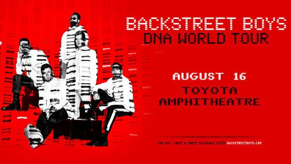 image for Win Backstreet Boys: DNA World Tour Tickets!