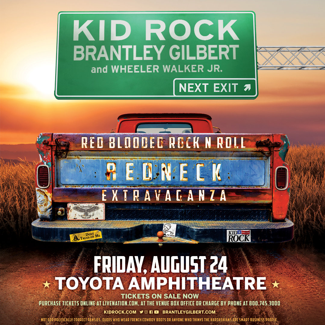 Win Kid Rock Tickets And Meet Greets With Brantely Gilbert 925