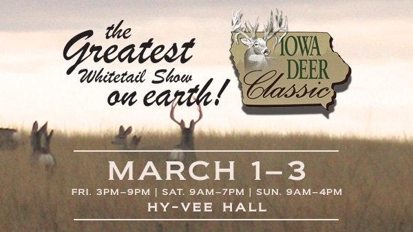 Win Iowa Deer Classic Tickets!