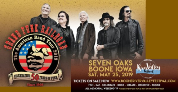 None - Win Tickets to Grand Funk Railroad WithBlue Oyster Cult!