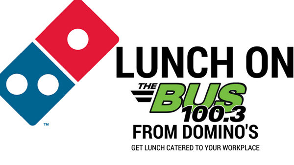 Lunch On The Bus- Domino's Pizza