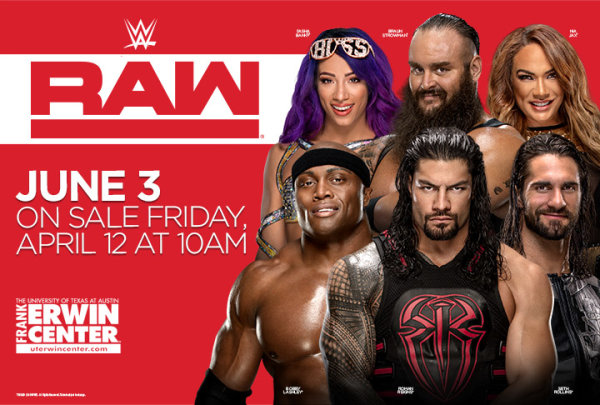 None - Win tickets to WWE RAW!