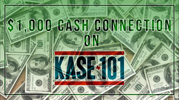 None - Listen to Win $1,000 Every Hour with the $1,000 Cash Connection on KASE 101!