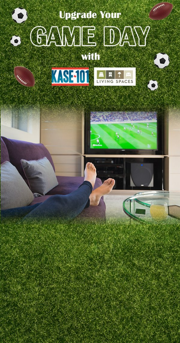 None - Upgrade Your Game Day with Living Spaces!