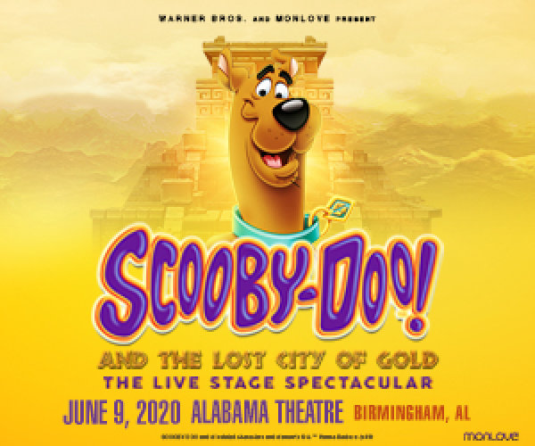 None - Scooby-Doo Live! | Alabama Theatre
