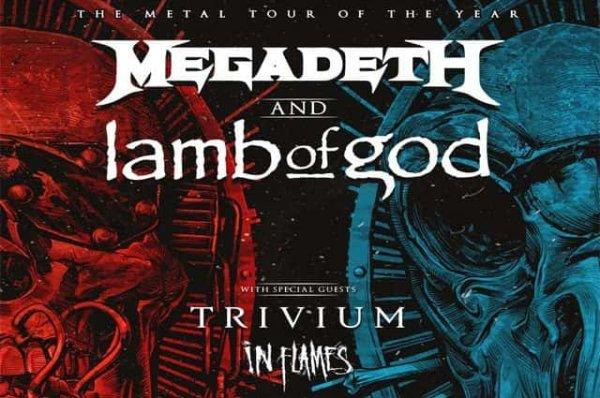image for Megadeth and Lamb of God   Oak Mountain Amphitheatre