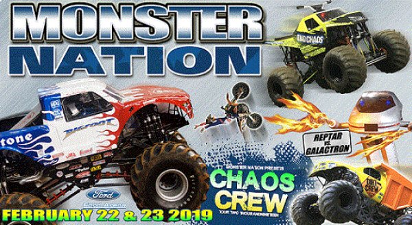 None - Monster Nation Presents Chaos Crew 2019 Feb. 22nd & 23rd at Ford Park