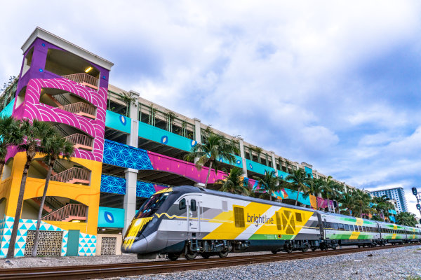 None - Win a ride on the Brightline!