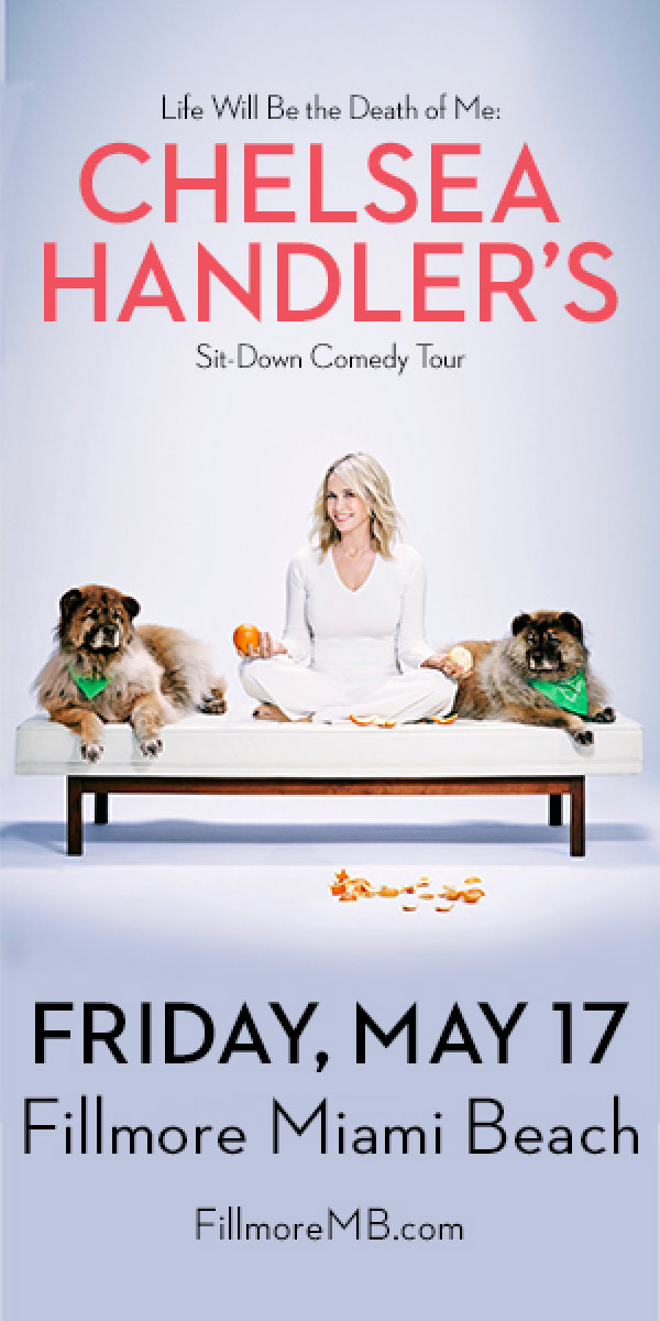 None - Win Tickets to see Chelsea Handler's Comedy Tour!