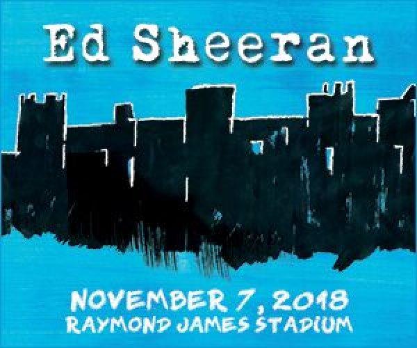 None - Ed Sheeran at Raymond James Stadium