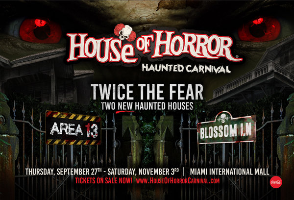 None - Win Tickets to House of Horror!